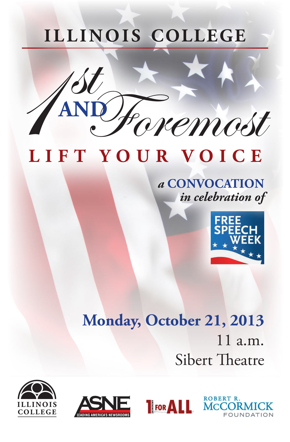 "Illinois College presents ""1st and Foremost"""