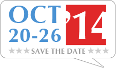 SAVE THE DATE! Free Speech Week Starts October 20-26, 2014